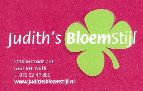 Judith's Bloemstijl